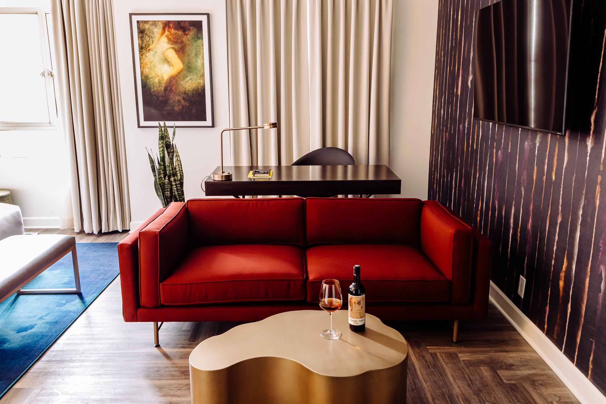 Hotel Deco Omaha Redick Suite