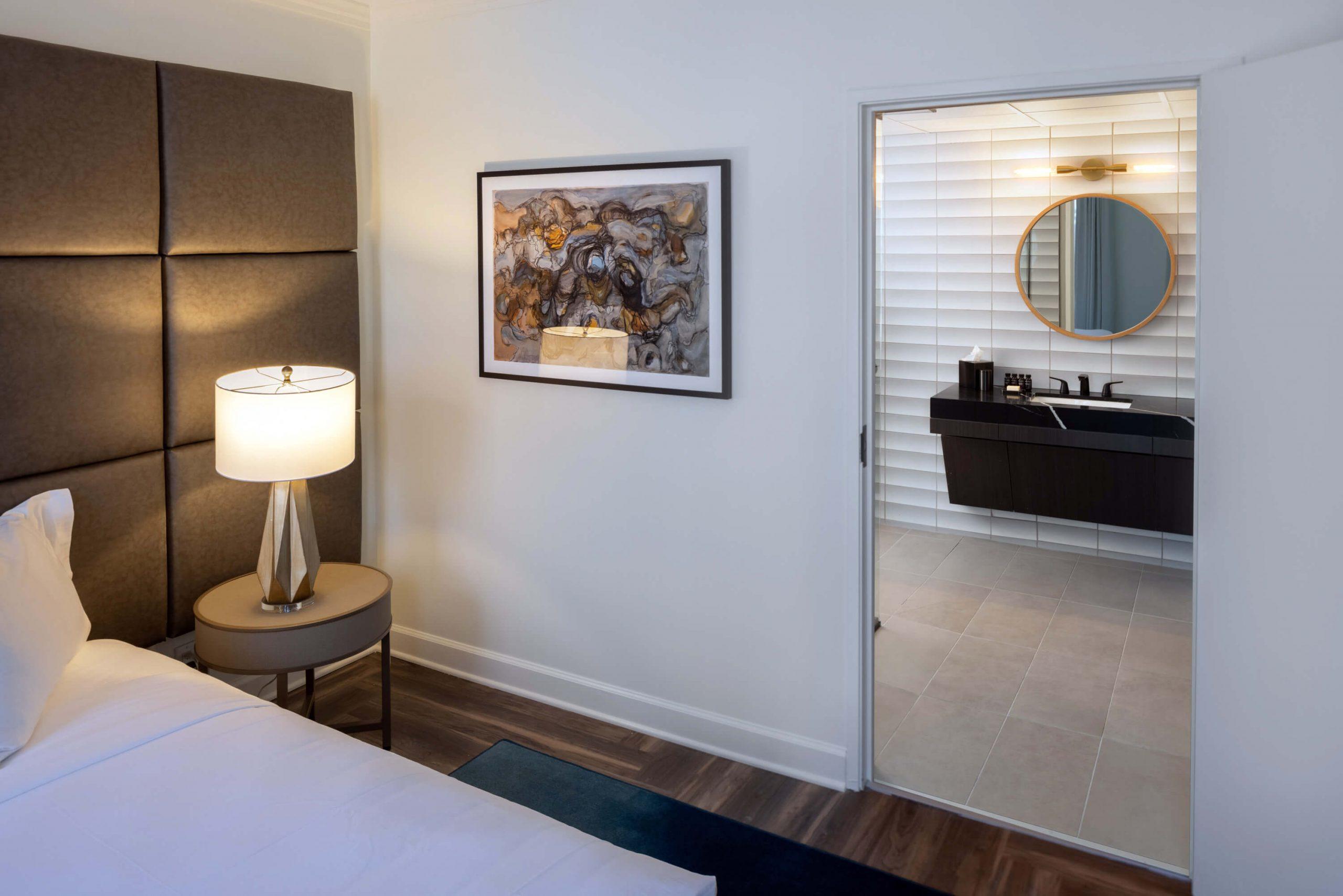 ADA accessible hotel room