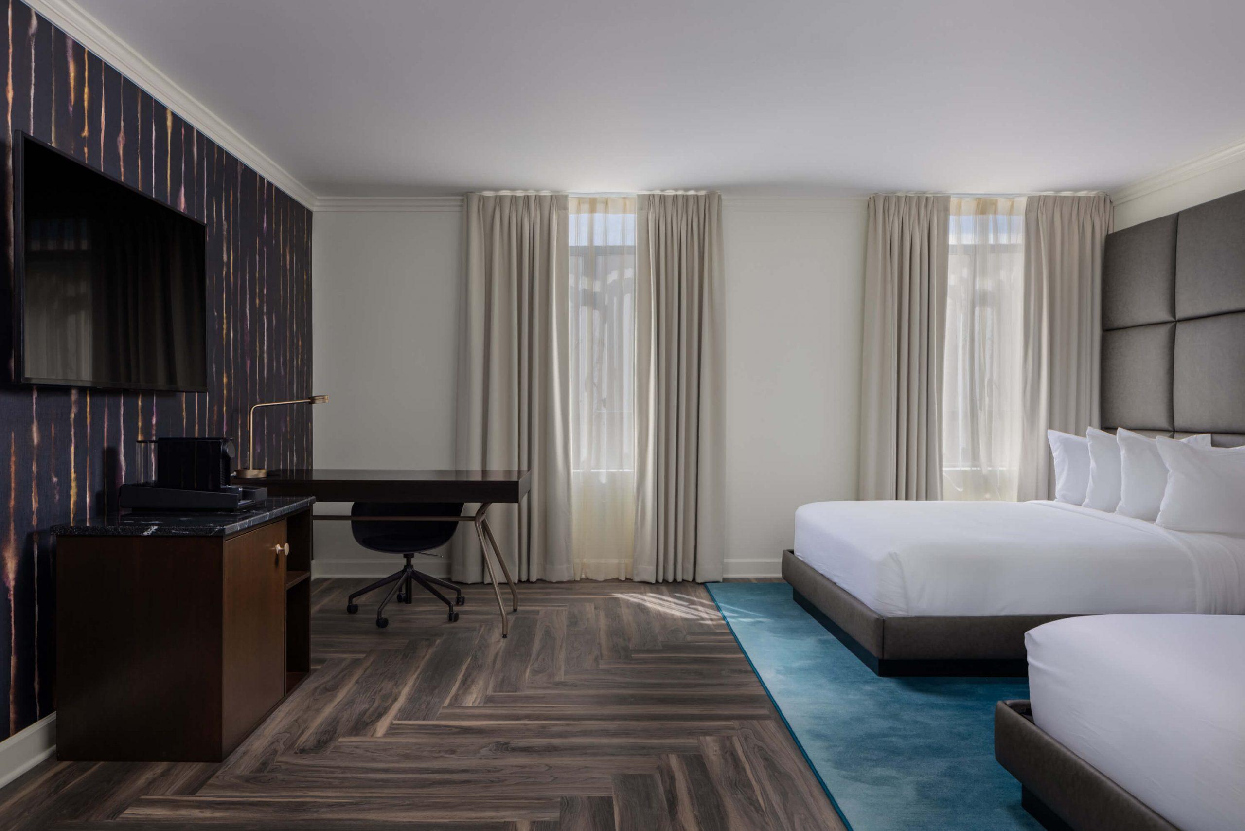 Double Queen Hotel Suite