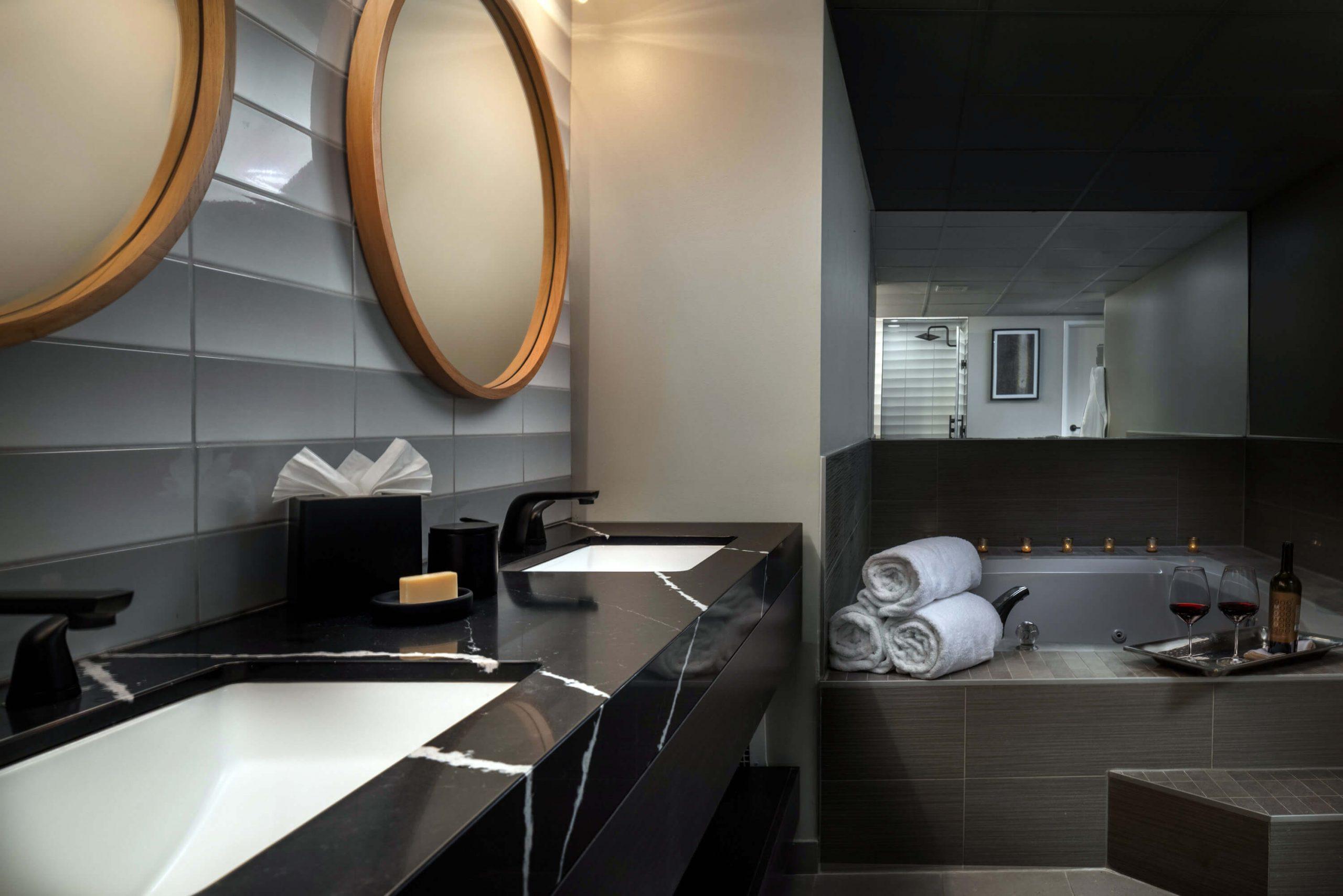 Redick King Suite bathroom
